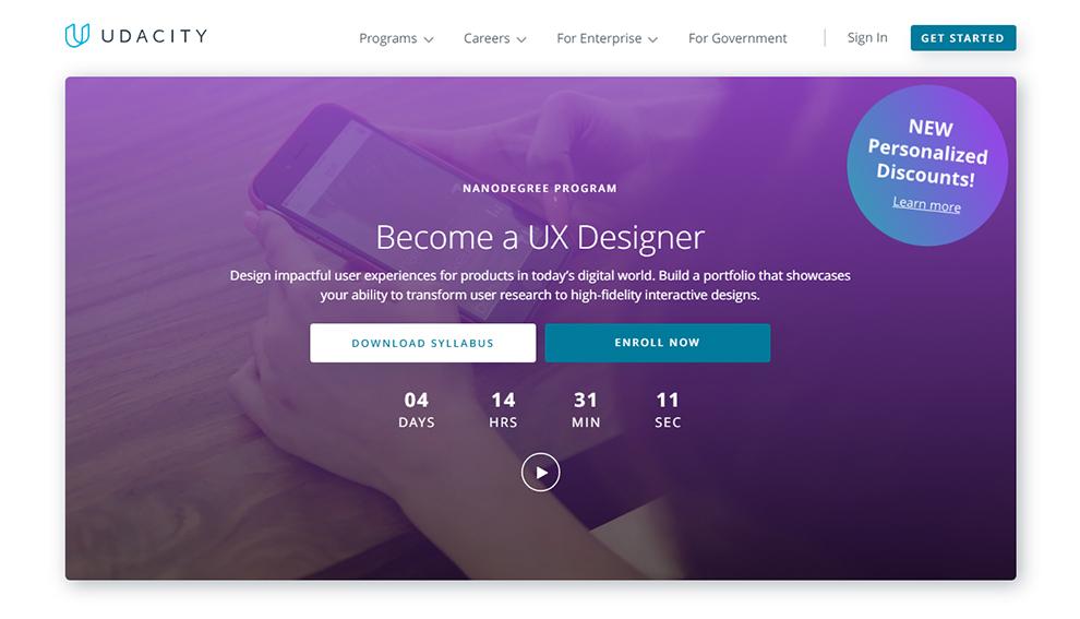 Become a UX Designer: Nanodegree program