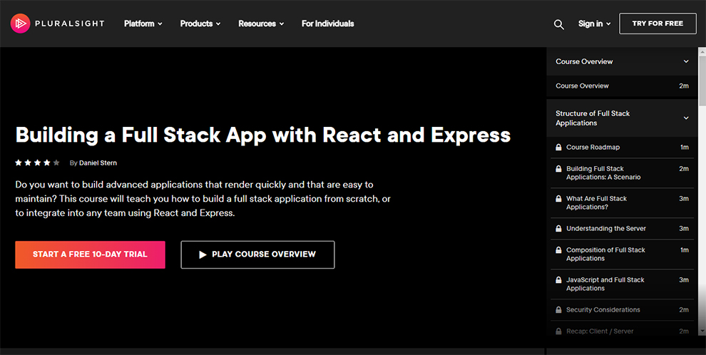 Building a Full Stack App with React and Express