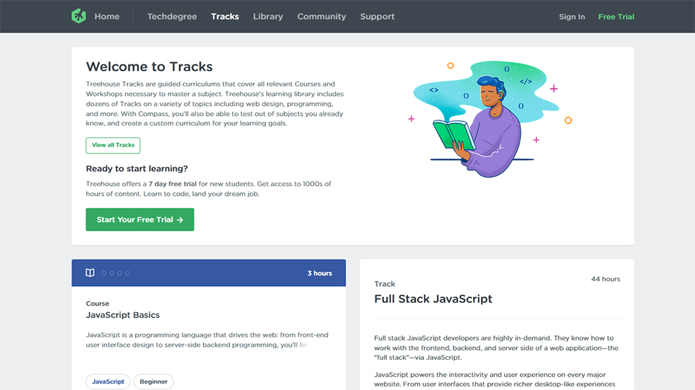 Full Stack JavaScript Courses