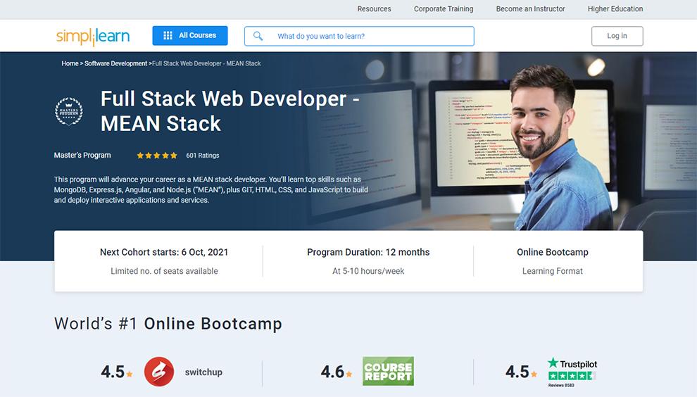 Full Stack Web Developer- MEAN Stack