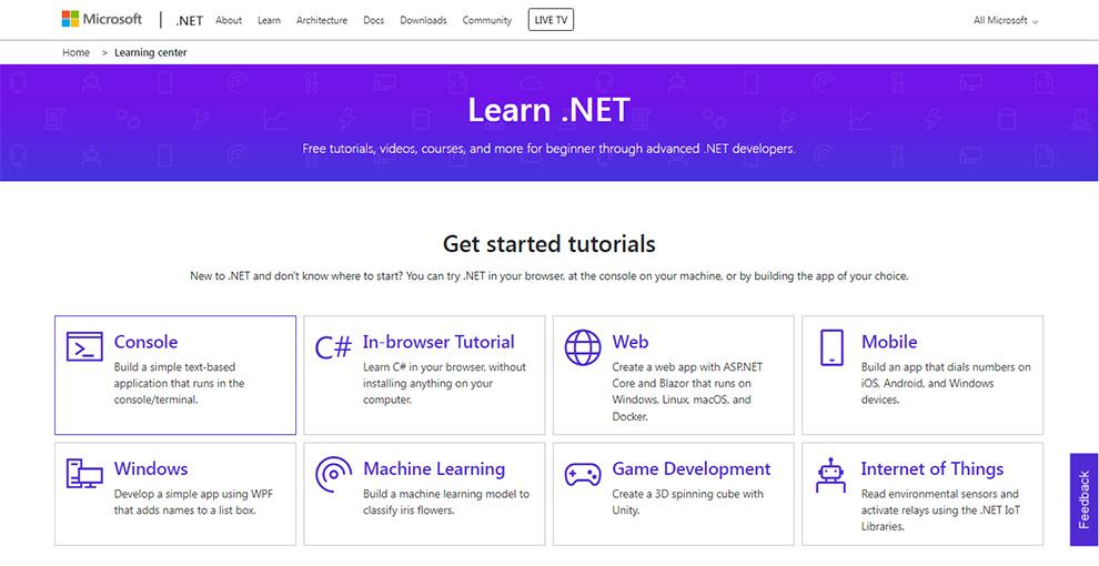 Learn .NET