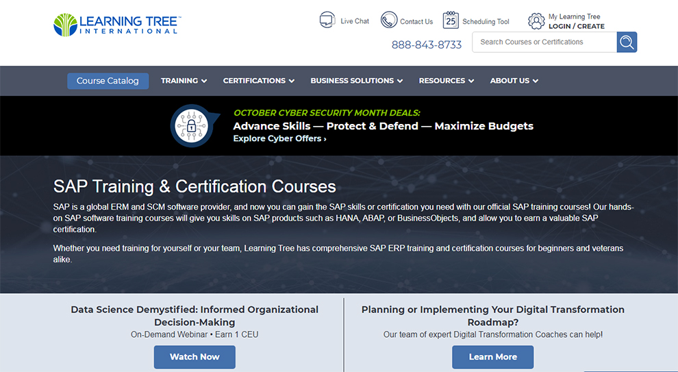SAP Training & Certification Courses